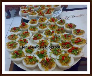 gandus atau talam ebi makanan khas palembang