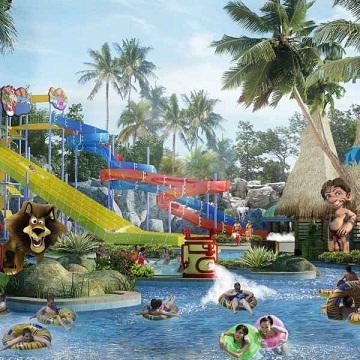 Amanzi Waterpark, Wisata Palembang Ala Hutan Afrika.2 Cropped