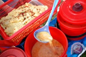 Ragit, salah satu makanan khas Palembang yang cukup digemari