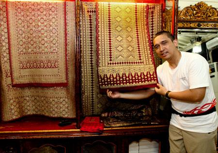 Songket Palembang