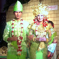 Pakaian Pernikahan Adat Palembang