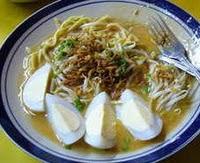 mie celor, salah satu makanan khas palembang