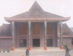 Museum Balaputradewa berada di Jalan Sudirman Km. 5,5 , Kota Palembang