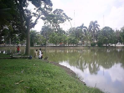 Kolam Retensi GOR Kampus Palembang