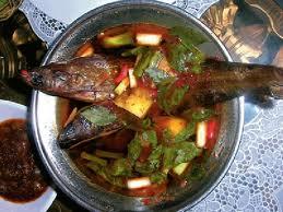 Pindang ikan asap makanan khas palembang