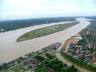 Pariwisata Palembang Indonesia - Sungai Musi