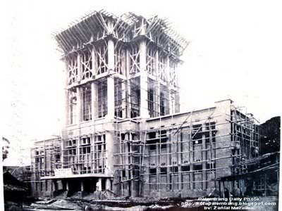 photo Pembangunan Gedung Walikota palembang