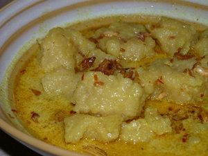 laksan, salah satu makan khas palembang