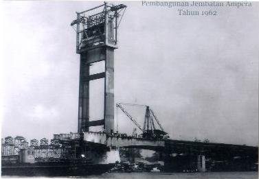 Foto Jembatan Ampera Palembang - Sumsel