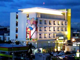 Hotel Exterior di Maxone Hotels @Vivo Palembang