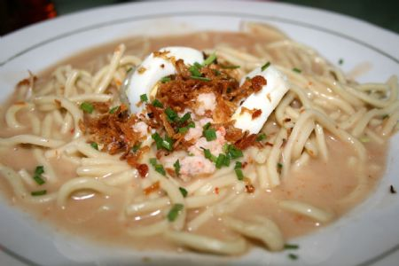 mie celor yang enak, Makanan Khas Palembang