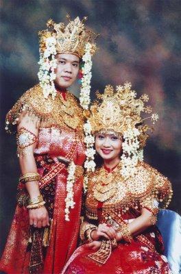 palembang Pakaian Tradisional Nusantara