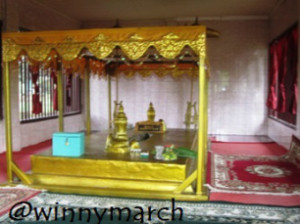 Raja Sigentar Alama Bukit Siguntang Palembang