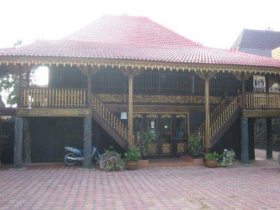 Rumah adat Palembang Rumah Limas
