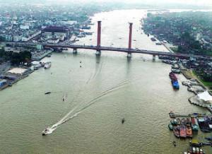 Sungai Musi - Pariwisata Palembang Indonesia