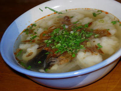 tekwan salah satu Makanan Khas Palembang