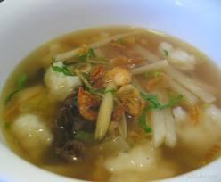 tekwan palembang Makanan Khas Palembang