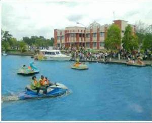 Danau Teluk Gelam Kabupaten Ogan Komering Ilir