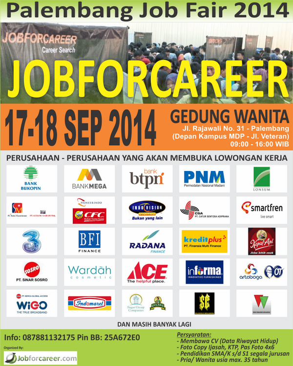 eventplg-palembang-job-fair-17-18-sep-2104-gedung-wanita-jl-rajawali-no-31-info-jobforcareerkom-httpt-cogbqwclhwuw
