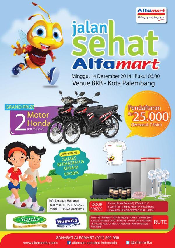 eventplg-ikuti-jalan-sehat-alfamart-minggu-14-des-2014-pkl-06-00-venue-bkb-palembang-info-alfamartku-httpt-codchedj82gz
