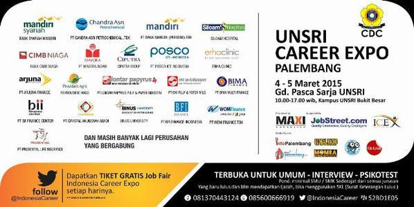 new-infopalembang-cari-kerja-unsri-career-expo-palembang-4-5-maret15-aula-pascasarjana-httpt-costuqycln7z