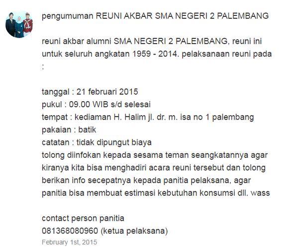 infoplg-reuni-akbar-alumni-sman-2-palembang-utk-seluruh-angkatan-1959-2014-tgl-21-feb-2015-via-musthafaandika-httpt-co9ywwqj0wff