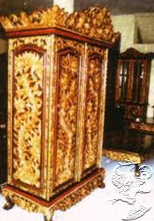 dekat masjid agung palembang sebagai pusat ukiran kayu di palembang