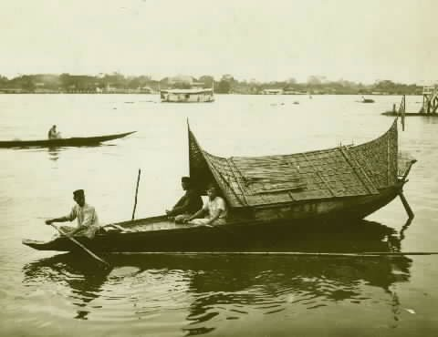 perahu-palembang-tempo-dulu
