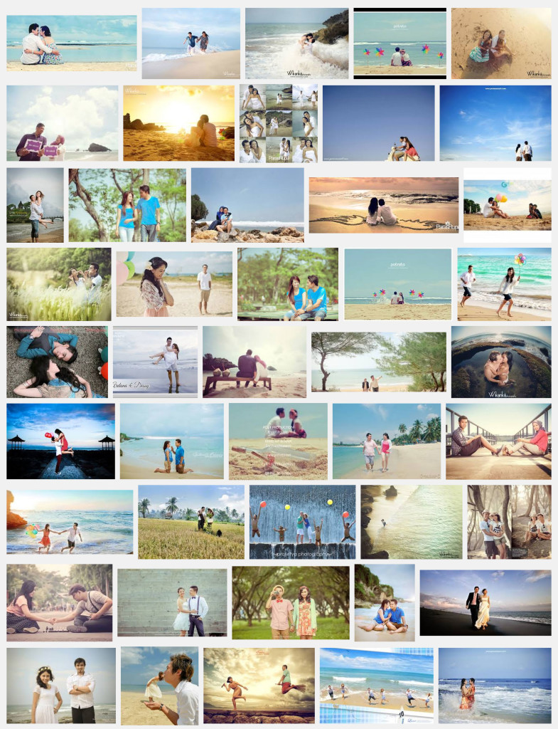 foto-prewedding-casual-pantai