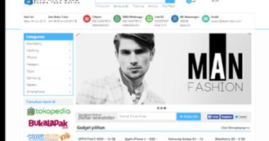 Jasa Pembuatan Website Toko Online di Palembang